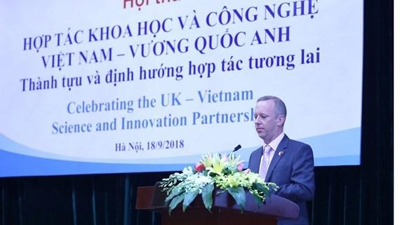 Royaume-Uni-Vietnam : approfondissement de la cooperation dans la science et technologie hinh anh 1