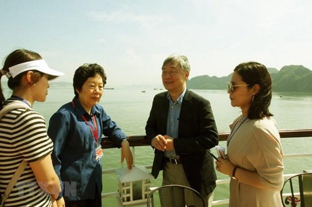 Une delegation de participants a l'ASOSAI 14 visite Quang Ninh hinh anh 1