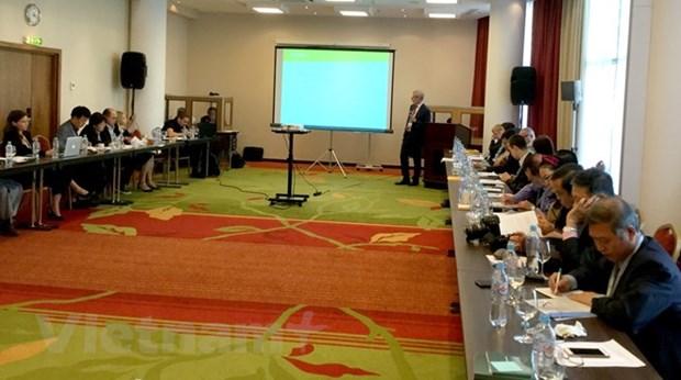 Colloque international sur la Mer Orientale a Moscou hinh anh 1