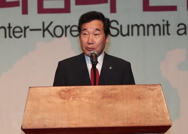 Le PM sud-coreen va venir au Vietnam pour rendre hommage au president Tran Dai Quang hinh anh 1