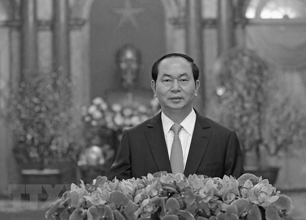 Condoleances de nombreux pays au Vietnam pour le deces du president Tran Dai Quang hinh anh 1