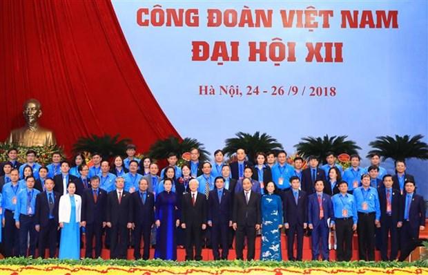 Le leader du PCV demande aux syndicats de renforcer leur efficacite operationnelle hinh anh 2