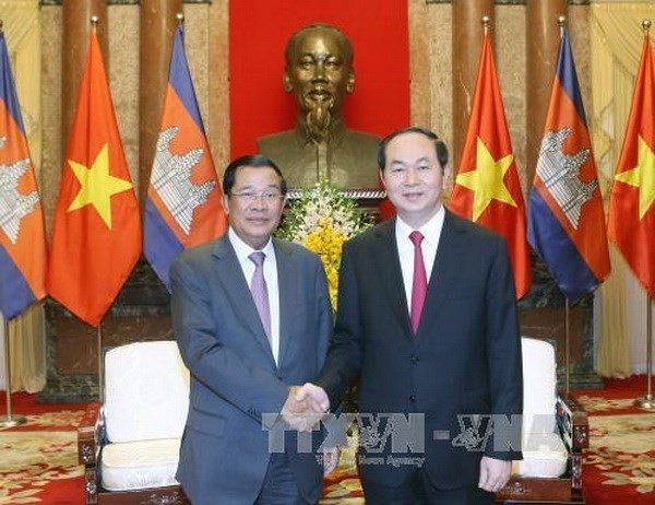 Le PM cambodgien se rendra aux obseques du president Tran Dai Quang hinh anh 1