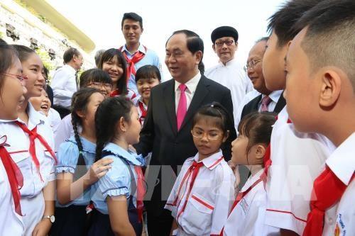 Le president Tran Dai Quang dans le cœur des electeurs de Ho Chi Minh-Ville hinh anh 1