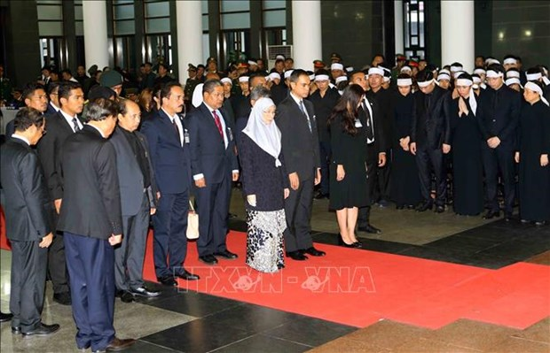 Environ 50.000 Vietnamiens et etrangers rendent hommage au president Tran Dai Quang hinh anh 1