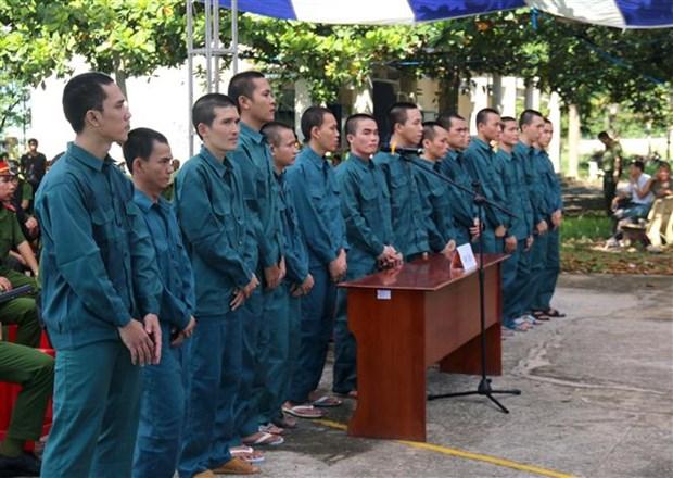 Quinze condamnations pour troubles a l'ordre public a Binh Thuan hinh anh 1