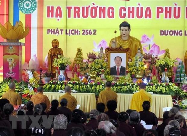 Remerciement du comite d'organisation des funeraires et de la famille du president Tran Dai Quang hinh anh 1