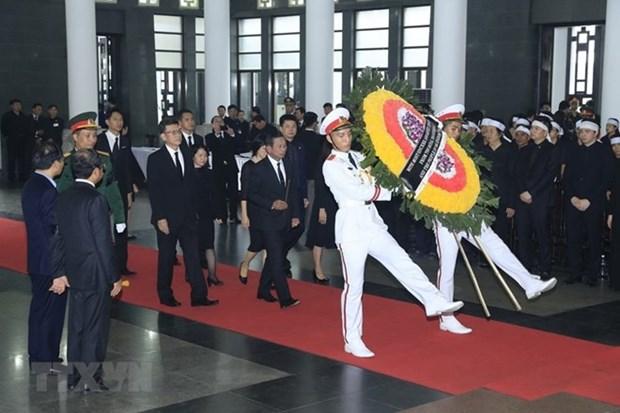 Deces du president Tran Dai Quang : des messages de condoleances au Vietnam hinh anh 1