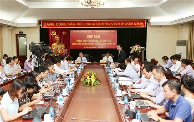 Le 8e Plenum du Comite central du PCV s'ouvrira debut octobre hinh anh 1