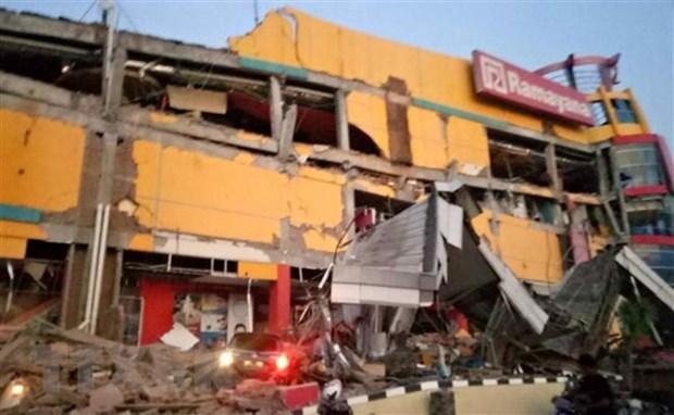 Seisme en Indonesie : au moins cinq personnes disparues apres le tsunami hinh anh 1