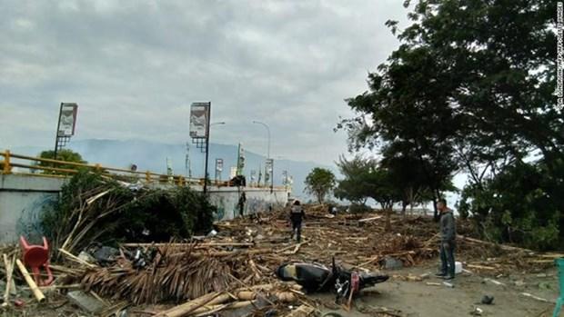 Seisme et tsunami en Indonesie: le bilan passe a au moins 832 hinh anh 1