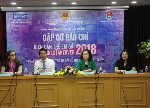 Bientot un forum sur la promotion des droits des filles a Hanoi hinh anh 1