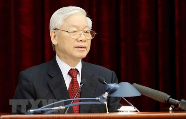 Le leader du PCV presente au poste de president de la Republique socialiste du Vietnam hinh anh 1