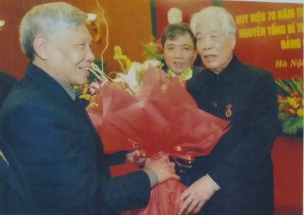 L'ancien secretaire general Do Muoi a marque son epoque hinh anh 1
