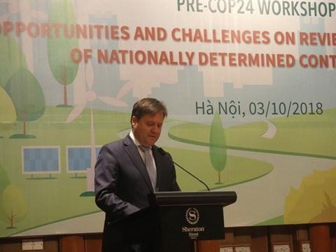 Pre-COP24: les preparatifs du Vietnam au centre d'un colloque a Hanoi hinh anh 1