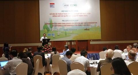Pre-COP24: les preparatifs du Vietnam au centre d'un colloque a Hanoi hinh anh 3