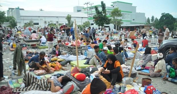 Seisme en Indonesie: le president Widodo inspecte les operations de secours hinh anh 2