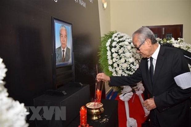 Ceremonies en memoire de l'ancien secretaire general Do Muoi au Cambodge et en Australie hinh anh 1