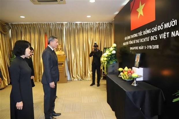 Les hommages affluent apres le deces de l'ancien secretaire general Do Muoi hinh anh 2