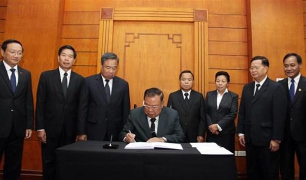 Les hommages affluent apres le deces de l'ancien secretaire general Do Muoi hinh anh 1