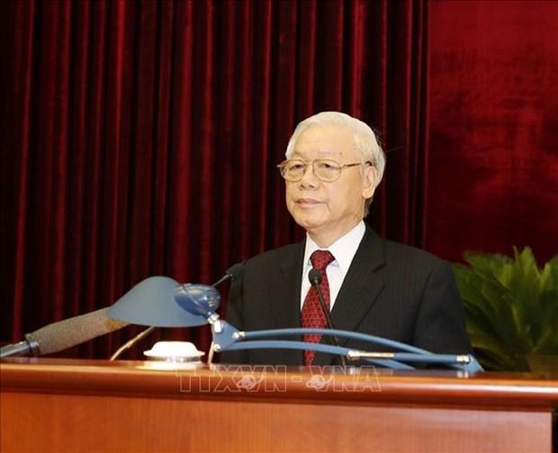 Le Comite central du PCV publie un communique de son 8e Plenum hinh anh 1