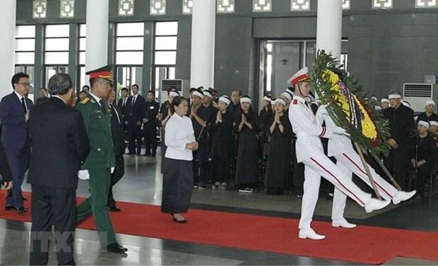 Des dirigeants etrangers expriment leurs regrets pour la mort de l'ancien secretaire general Do Muoi hinh anh 1