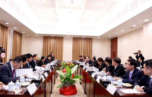 Une delegation du PCV en visite officielle au Laos hinh anh 1