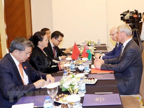 Le Vietnam et la Bielorussie renforcent leur cooperation multiforme hinh anh 1