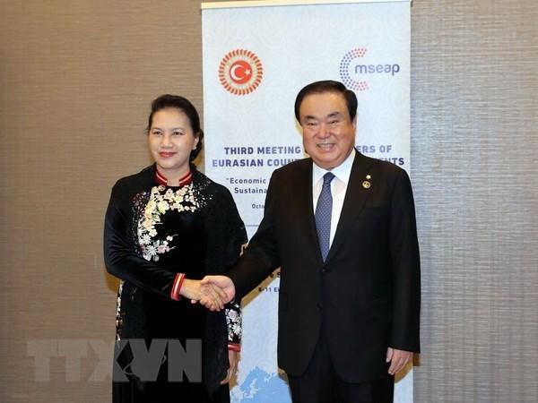 Le Vietnam et la Republique de Coree intensifient la cooperation parlementaire hinh anh 1