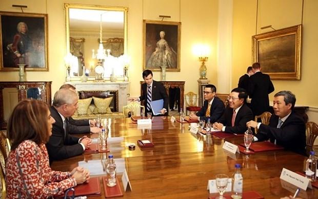 Declaration commune entre le Vietnam et le Royaume-Uni hinh anh 1