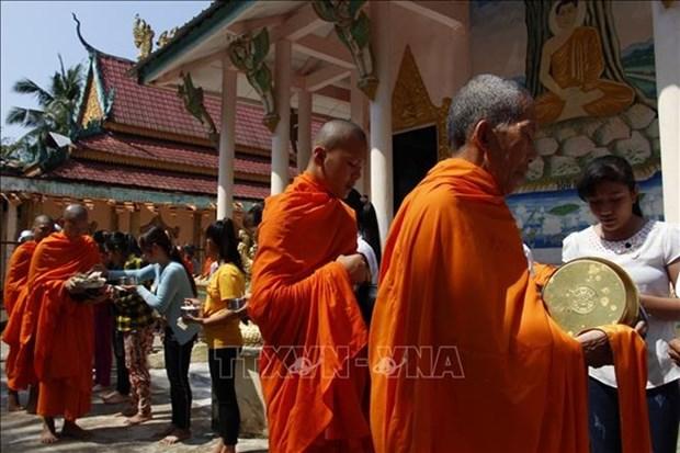 La communaute khmere de Hau Giang, Soc Trang et Ca Mau celebrent la fete Sene Dolta hinh anh 1