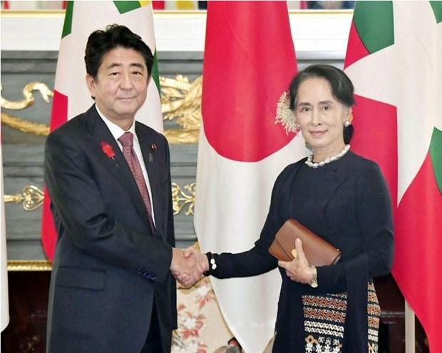 Le Japon apprecie les efforts de reforme et de stabilisation du Myanmar hinh anh 1