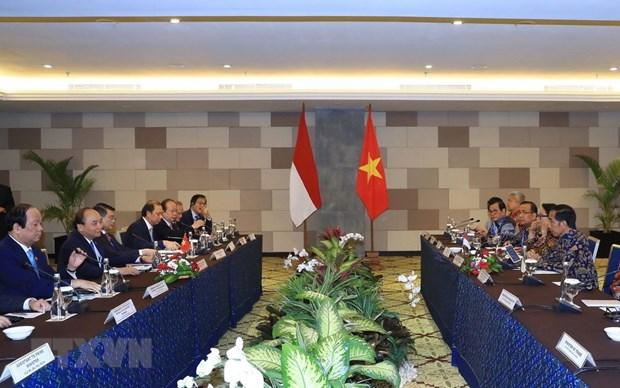 Le Premier ministre Nguyen Xuan Phuc s'entretient avec le president indonesien hinh anh 1