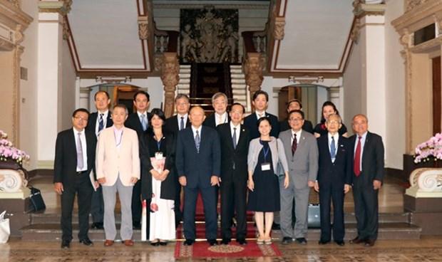 Ho Chi Minh-Ville promeut la diplomatie populaire avec le Japon hinh anh 1