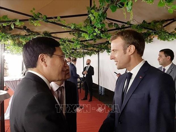 Le vice-PM Pham Binh Minh au Sommet de la Francophonie hinh anh 2