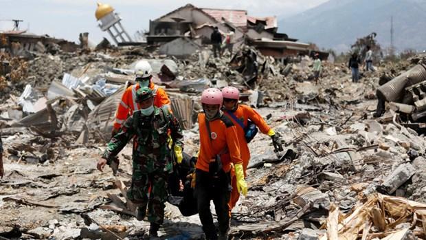 Indonesie: le bilan du seisme et du tsunami s'alourdit a 2.073 morts hinh anh 1