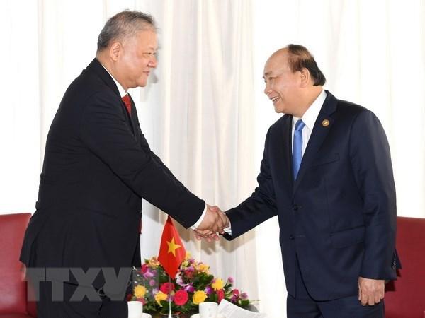 Le PM Nguyen Xuan Phuc recoit le president de la compagnie indonesienne Nikko hinh anh 1