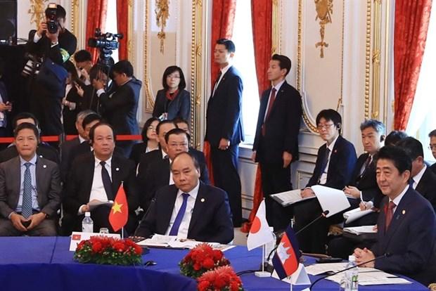 Le voyage au Japon du PM Nguyen Xuan Phuc, un
