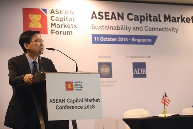 Le Forum sur les marches des capitaux de l'ASEAN lance deux initiatives hinh anh 1