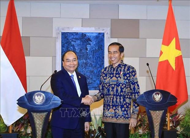 Le voyage en Indonesie du PM Nguyen Xuan Phuc obtient des resultats importants hinh anh 1