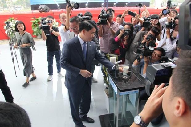 Inauguration de l'usine de production d'eau le plus grand du Nord hinh anh 1