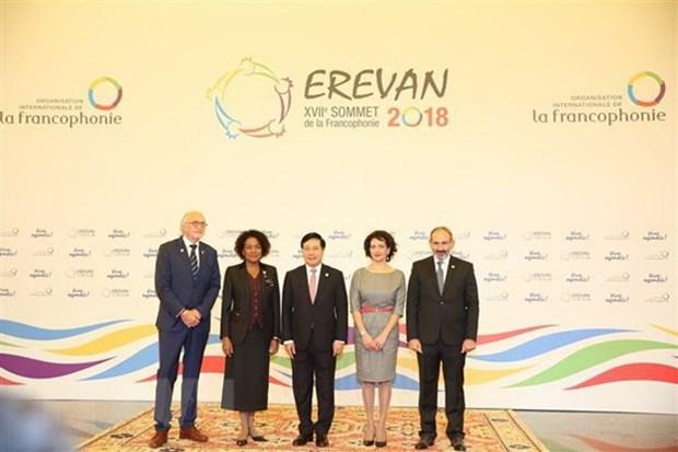 Francophonie : le Vietnam participe activement aux efforts pour la paix et le developpement hinh anh 2