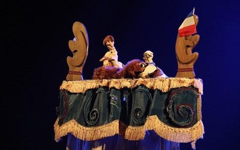 Convergence et echanges au 5e Festival international de marionnettes hinh anh 1