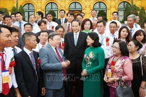 Vietnam : 63 paysans exemplaires mis a l'honneur en 2018 hinh anh 2