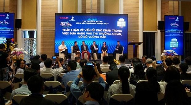 Le marche aseanien prometteur pour les entreprises vietnamiennes hinh anh 1