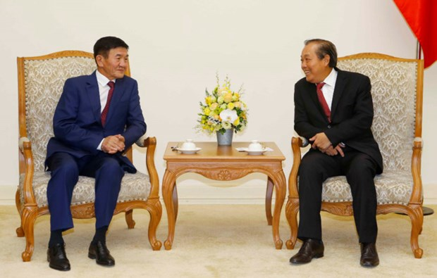 Vietnam-Mongolie : promotion de la cooperation dans des domaines hinh anh 1