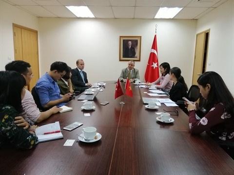 Partenariat strategique renforce entre le Vietnam et la Turquie hinh anh 1
