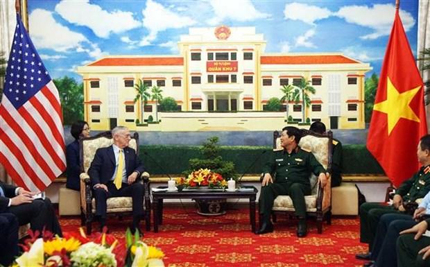 Le Vietnam et les Etats-Unis boostent leur cooperation en matiere de defense hinh anh 1