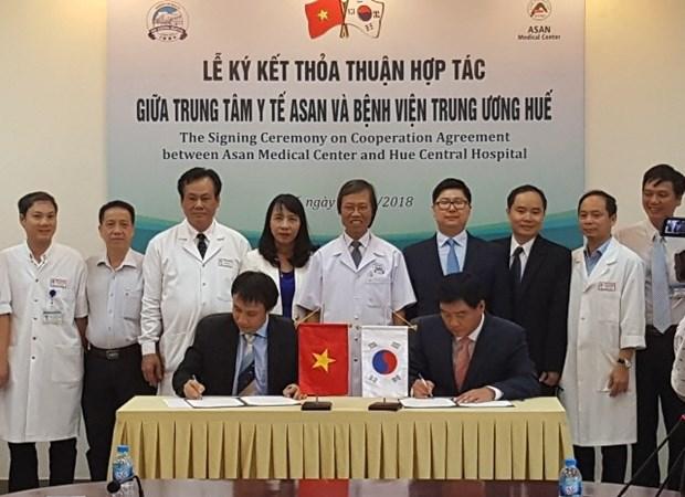 L'Hopital central de Hue et le sud-coreen ASAN cooperent sur la greffe de foie hinh anh 1