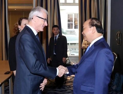 Le Vietnam et la Region flamande cimentent leur cooperation hinh anh 1